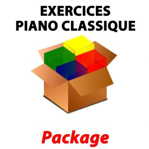 Pack Exercices Piano