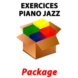 Pack Exercices Piano Jazz